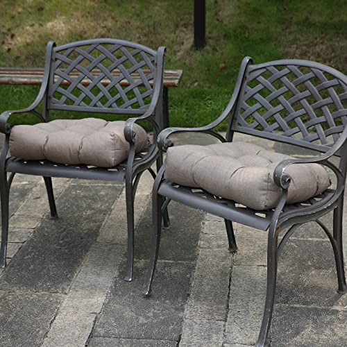 RACLVAY Outdoor Cushions 19 x 19 inches Patio Chair Seat Pads Review