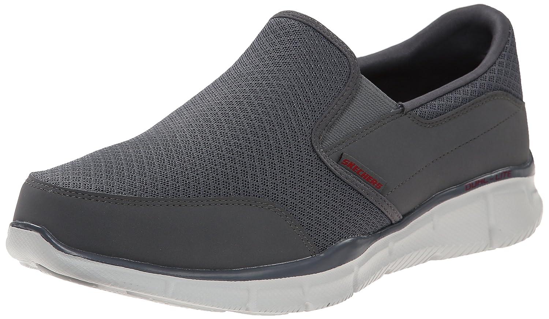 Skechers Men's Equalizer Persistent Slip-On Sneaker 11 D(M) US|Charcoal
