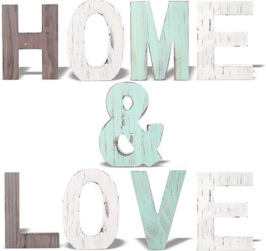 Amazon.com: MEANT2TOBE letreros de madera rústica para ...
