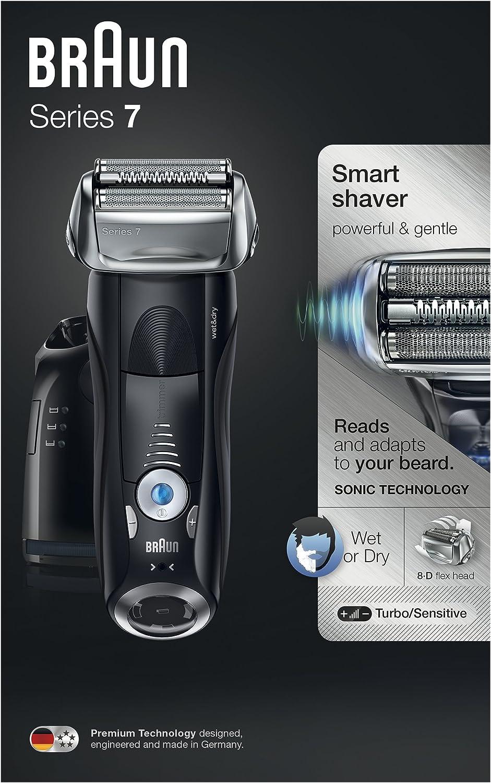 Braun Series 7 7880cc Wet&Dry, Plastico, metal, etc, Negro: Amazon.es: Salud y cuidado personal