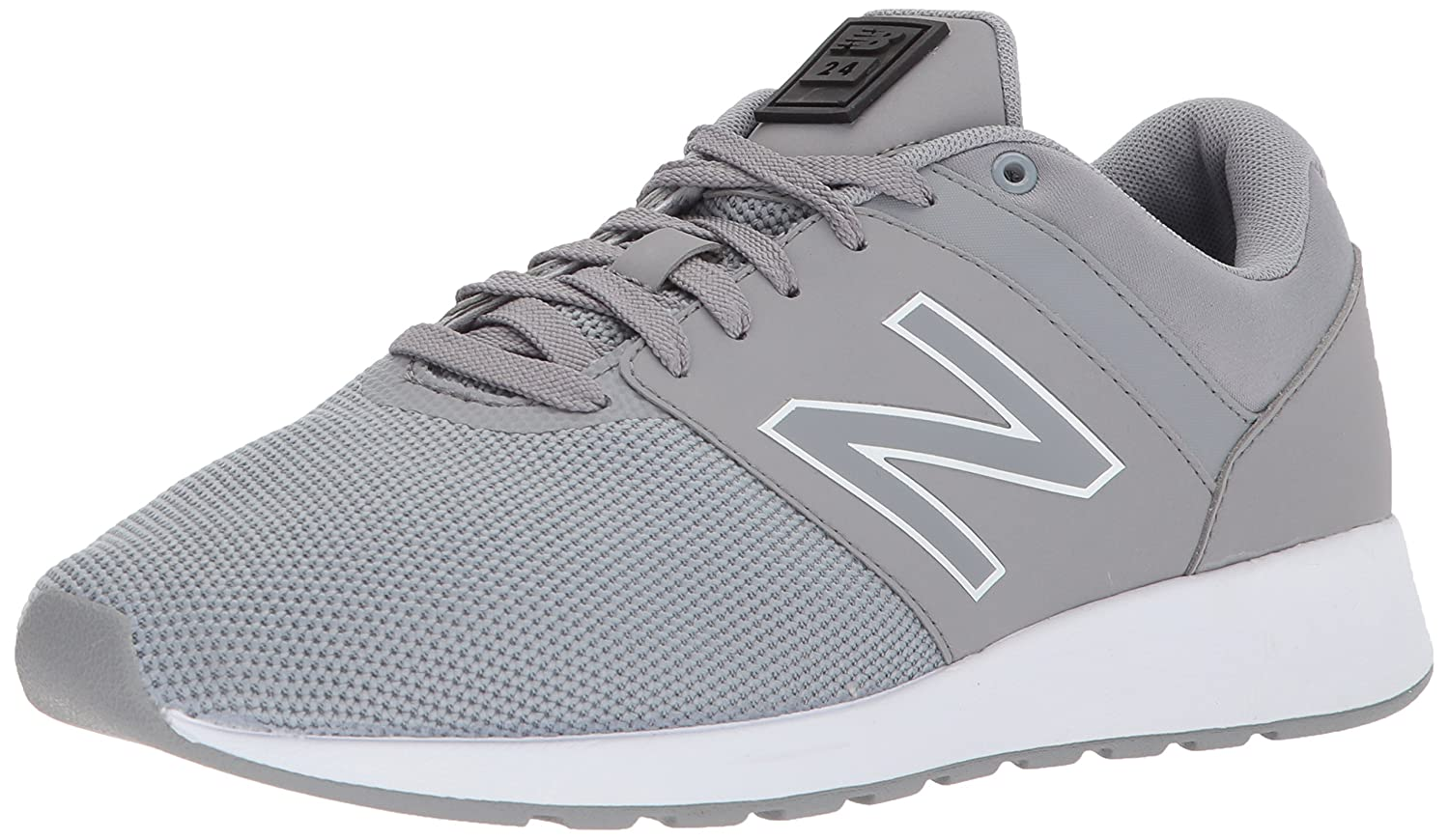 New Balance Men's 24v1 Sneaker 9.5 4E US|Steel