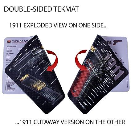 Amazon Tekmat 1911 Double Sided Gun Cleaning Mat 11 X 17