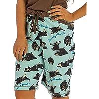 Lazy One Animal Pajamas for Women, Cute Pajama Shorts and Top Set, Separates