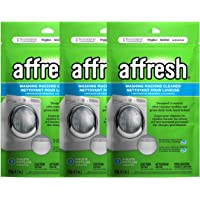 Affresh W10501250 - Limpiador de lavadora, 9 tabletas: limpia las arandelas de carga frontal y de carga superior…