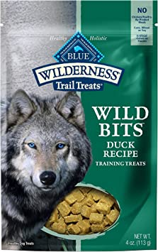 Blue Buffalo Wilderness Trail Treats Wild Bits High Protein Grain Free