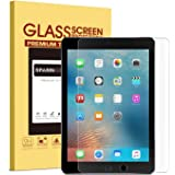 """New iPad 9.7"""" (2017) / iPad Pro 9.7 Screen Protector, SPARIN Tempered Glass Screen Protector - Apple Pencil Compatible / 2.5D Round Edge / Scratch Resistant Also for iPad Air 2 / iPad Air"""
