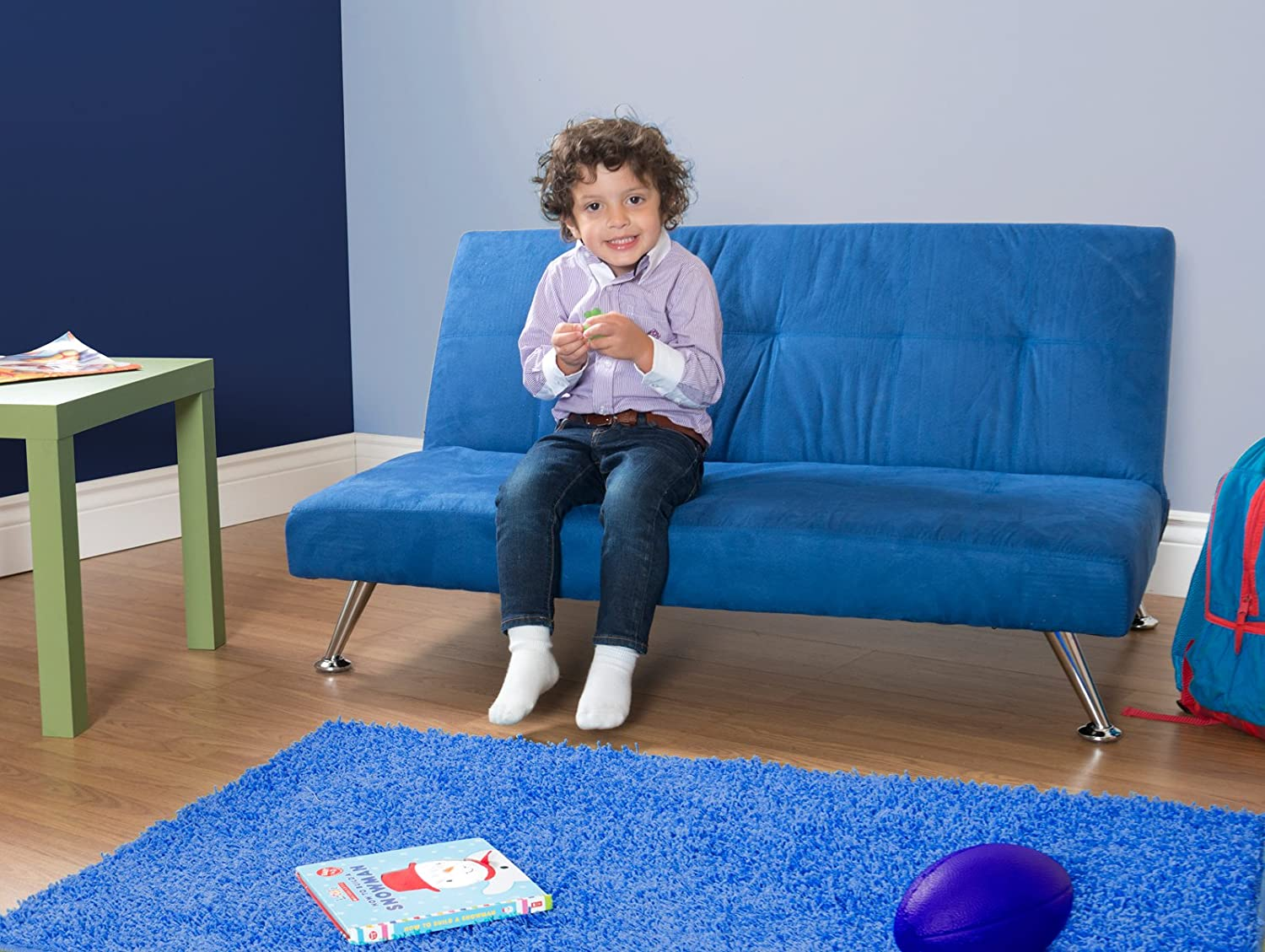 chair futon futons air s furniture kids phenomenal bed new comfortable blue for oriental roselawnlutheranofa toddler