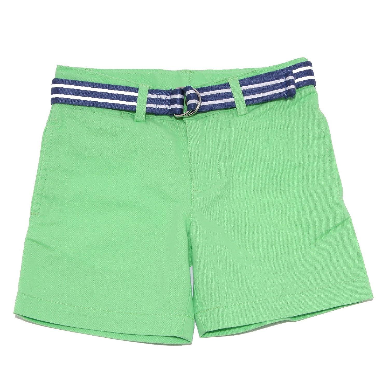 Ralph Lauren 9100T Bermudas para niño, Color Verde: Amazon.es ...