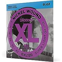 Daddario Exl120 Elektro Gitar Tel Seti, Xl, 9-42, Nickel Wound, Su