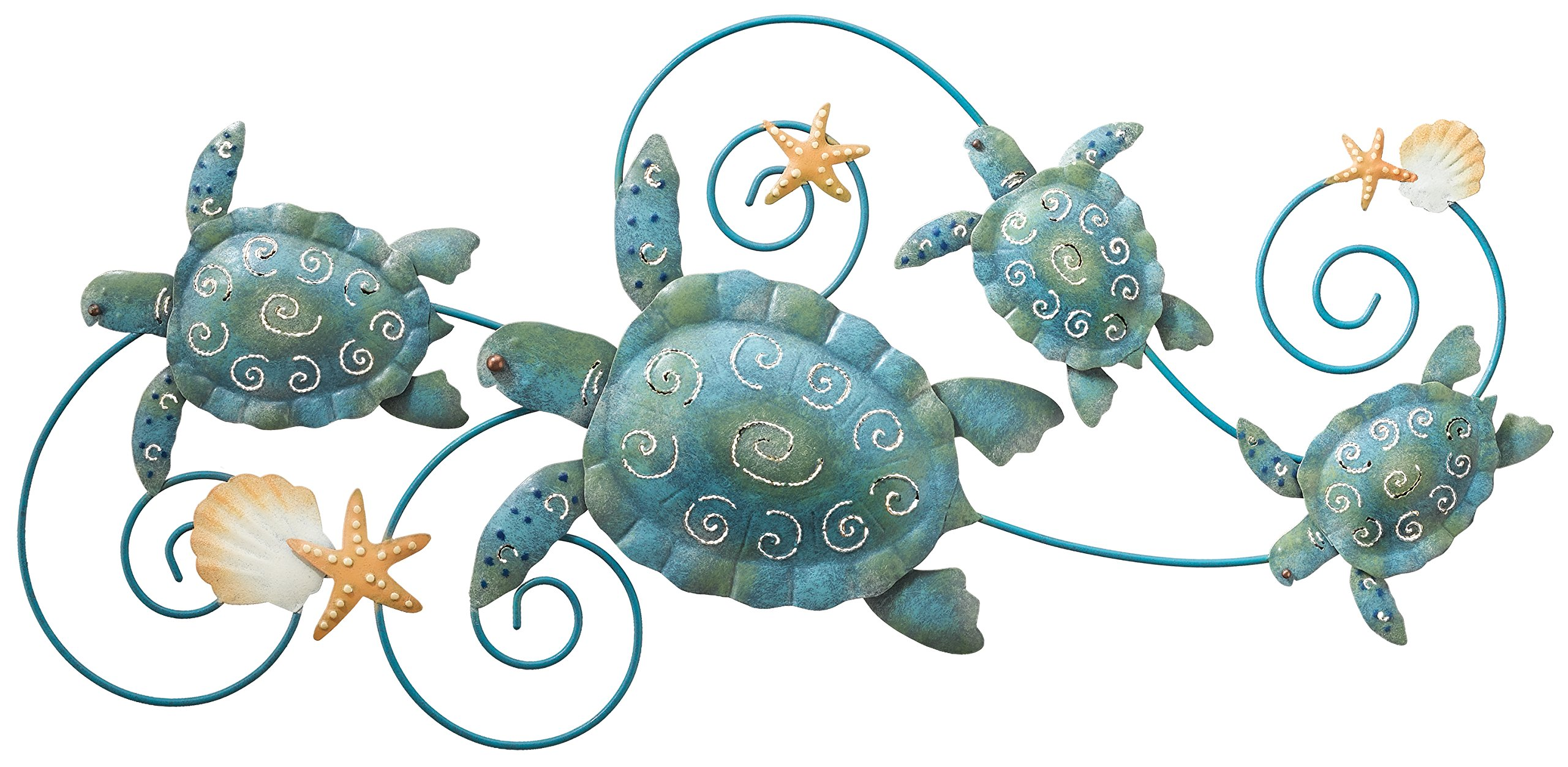 Regal Art and Gift 5073 Sea Turtle Wall Decor, 31'', Blue by Regal Art & Gift