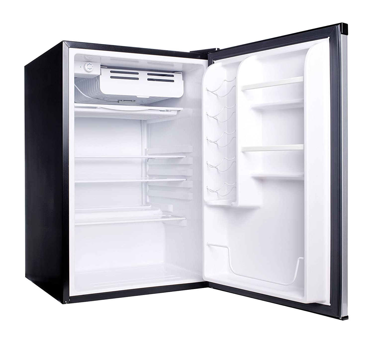 refrigerator 7 5 cu ft. amazon.com: haier hc45sg42sv 4.5 cubic feet refrigerator/freezer, white interior, vcm door: appliances refrigerator 7 5 cu ft i