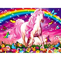 Ravensburger Horse Dream Glitter Puzzle 100pc,Children's Puzzles