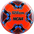 Wilson NCAA Forte Fybrid II Soccer Cup Game Ball - Neon Orange/Blue