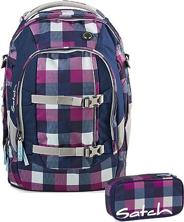 satch sporttasche berry carry lila 966 karo lila blau. Black Bedroom Furniture Sets. Home Design Ideas