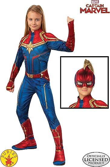 Amazon.com: Disfraz de la heroína Capitana Marvel , L: Toys ...