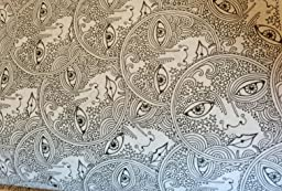 It is a graphic of Current Posh Coloring Book Soothing Designs