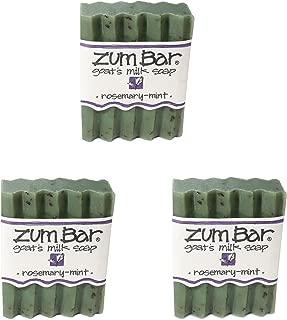 product image for Indigo Wild: Zum Bar Goat's Milk Soap Bar, Rosemary Mint 3 oz (3 pack)