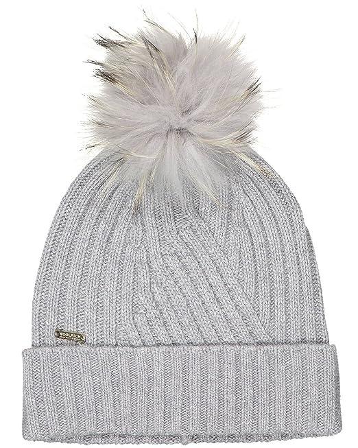 Woolrich Cappello Donna W s Soft Hat WWACC1350 col. Grigio Chiaro tg ... aba3b8488971