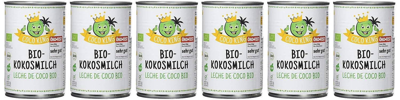 Dr. Goerg, Leche de Coco Ecológica -Pack de 6 unidades de 400ml: Amazon.es: Alimentación y bebidas