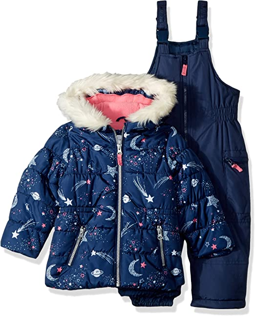 Amazon.com: Carters - Traje de nieve para niña (2 piezas ...