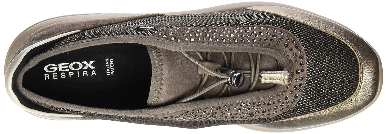 Geox D Ophira B, Zapatillas para Mujer, Braun (Chestnut/TAUPEC6132), 40 EU