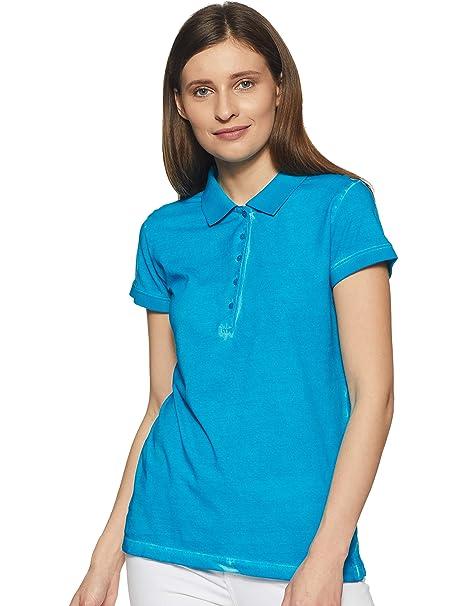 8fbafaa3 Park Avenue Woman Plain T-Shirt: Amazon.in: Clothing & Accessories