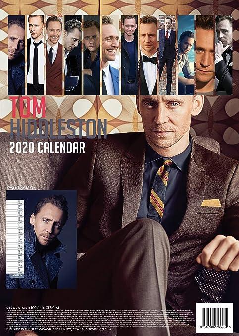 Amazon.com: Tom Hiddleston Calendario 2020 + Tom Hiddleston ...