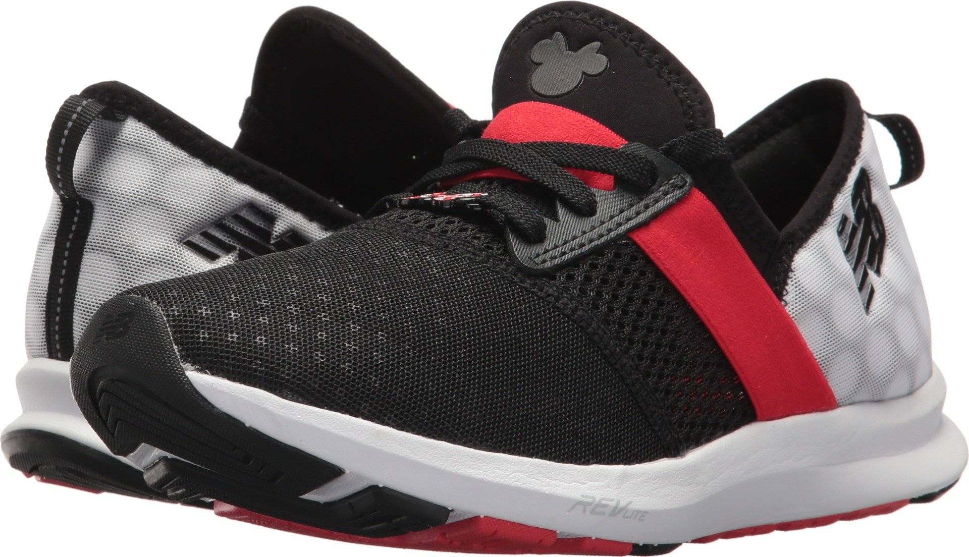 New Balance Women's Fuelcore Nergize v1 Disney Cross Trainer, Black/Red, 5 B US