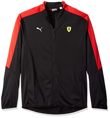 PUMA Men\u0027s Standard Scuderia Ferrari T7 Track Jacket