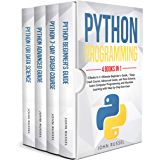 Python: 4 Books in 1: Ultimate Beginner's Guide, 7 Days Crash Course, Advanced Guide, and Data Science, Learn Computer Programming and Machine Learning with Step-by-Step Exercises (English Edition)