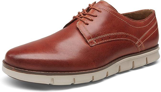 VOSTEY Mens Dress Shoes Oxford Shoes Formal Dress Shoes for Men Business Derby Shoes