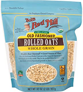 product image for Bob's Red Mill Organic Rolled Oats, 32 Ounces (Pack of 4)