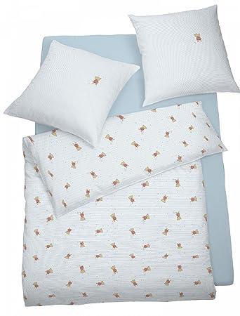 Schlafgut Jersey Kinderbettwäsche Brummel 100x135 Cm 40x60 Cm