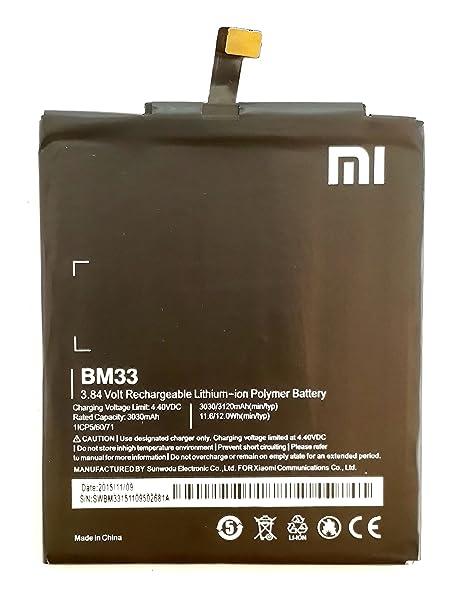 Xiaomi Bm33 Battery For Xiaomi Mi 4i Amazon In Electronics