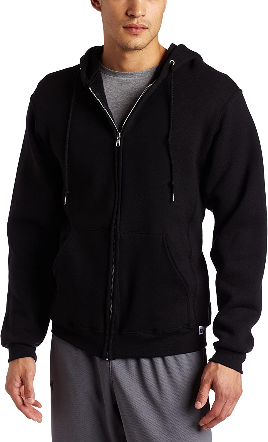 Russell Athletic Men's Dri Power Full Zip Fleece Hoodie