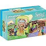 PLAYMOBIL® Spirit Riding Free PRU & Chica Linda with Horse Stall