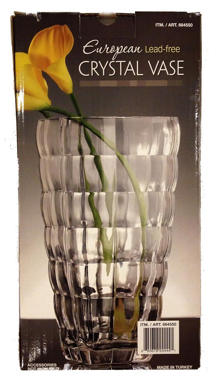 Amazon european lead free crystal vase home kitchen reviewsmspy