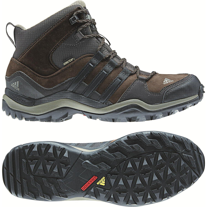 Adidas Kumacross Mid GTX Boot - Men's Espresso / Black / Dark Brown 8