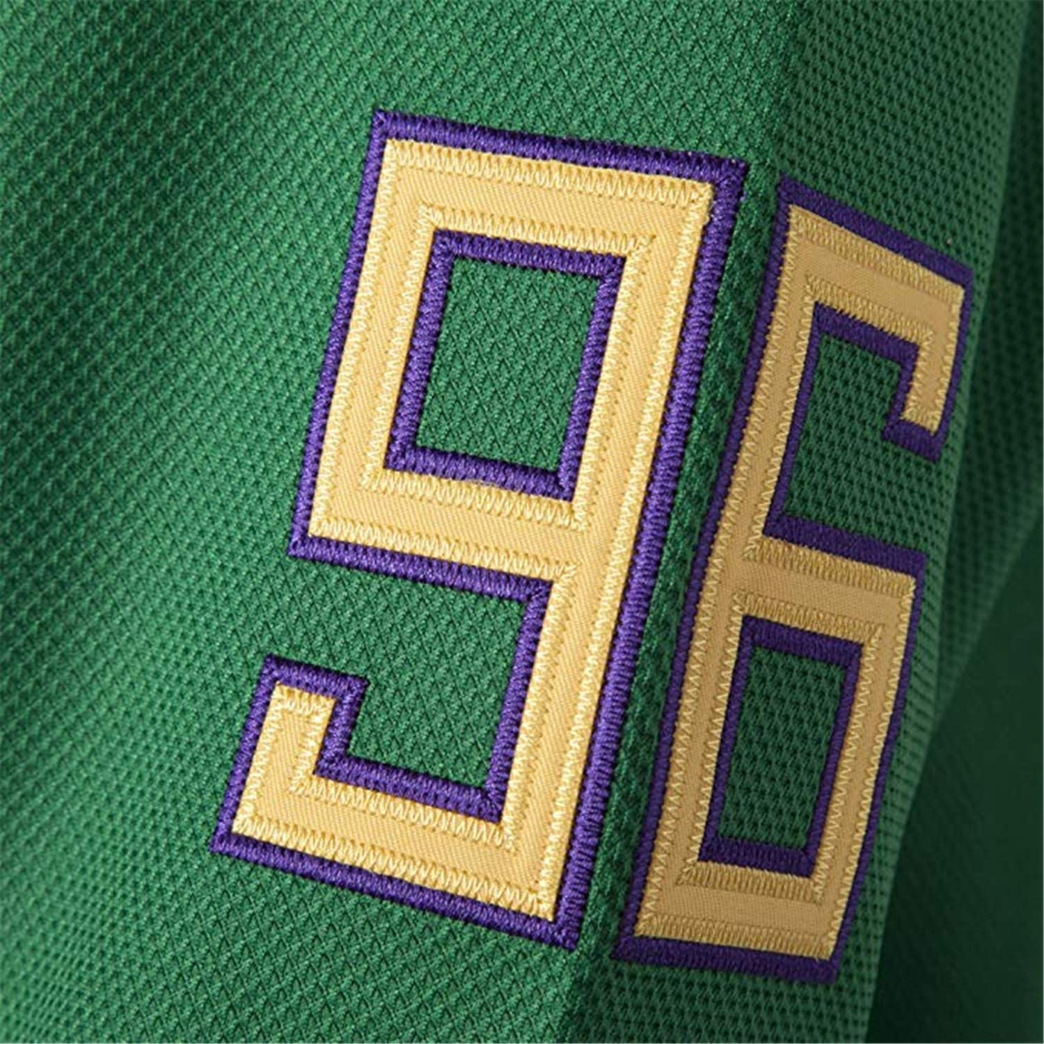 Charlie Conway 96 The Mighty Ducks Jersey S-XXXL Green White 90S Hip Hop Clothing for Stitched