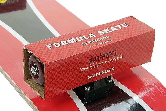 31 x 8.25 Black DAKOTT Ferrari Cruiser Standard Skateboard FBW33