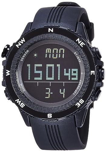 Lad Weather reloj para deportes al aire libre alturas humedad temperatura fabricado en Alemania Unisex lad004bk negro: Amazon.es: Relojes