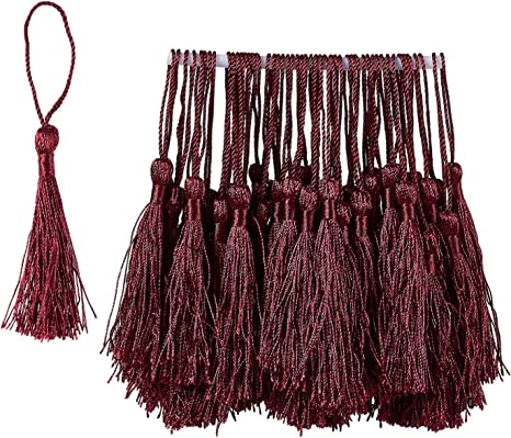 10//20PCS  Handmade Silky Tassels Decoration Pendant Key Chains Bag Accessories