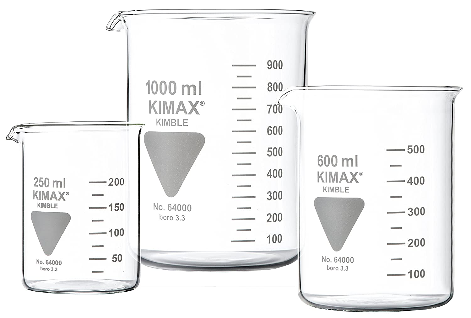 Neolab 0153 1 Cup Glass Low Form With Spout, Kimax Borosilicate Glass 3.3 –  100 ml Kimax Borosilicate Glass 3.3-100ml 1-0153