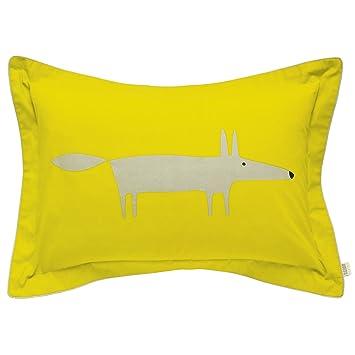 Scion Mr Fox Bettwasche Oxford Kissenbezug Zitrusfarben Amazon De