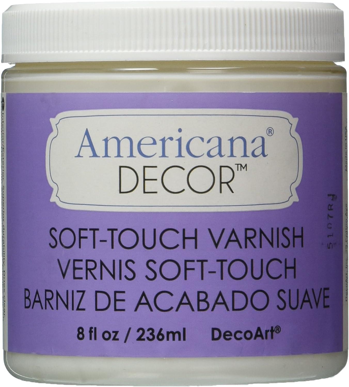 Wonderbaarlijk Amazon.com: Deco Art Soft Touch Varnish, 8-Ounce, Clear: Arts XL-13