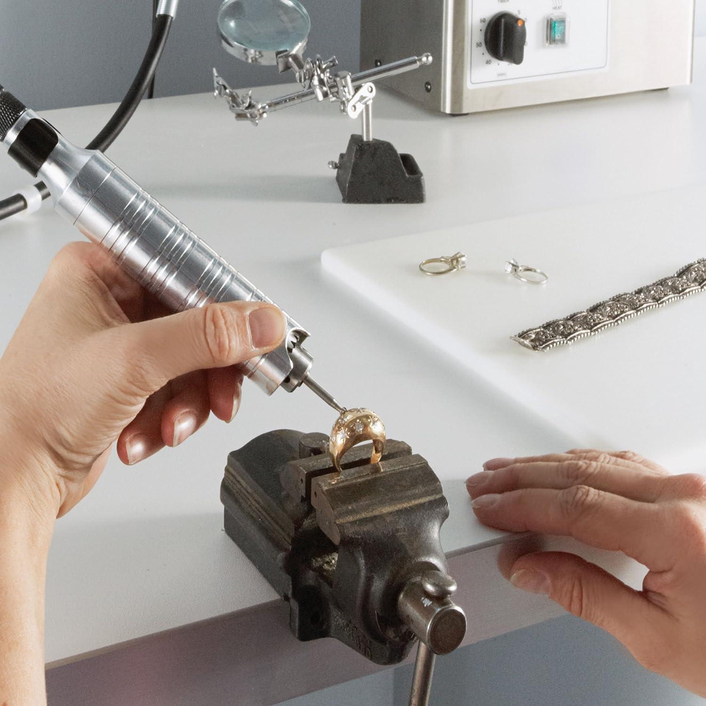Polisher Etcher Engraver Dremel 9100-21 Fortiflex 2.5 Amp Flex Shaft Powerful Rotary Tool Kit- Detail Sander