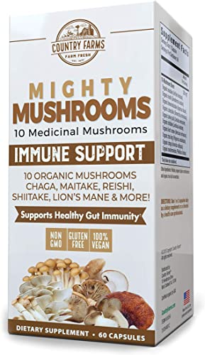 Country Farms Mighty Mushrooms Dietary Supplement