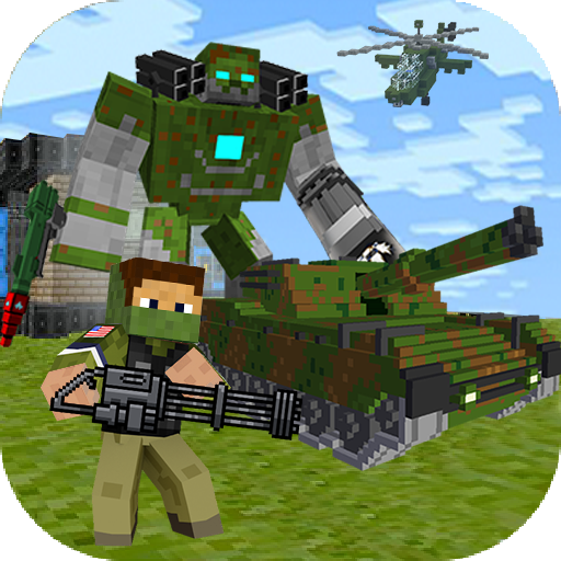 Block Soldier War Games  Free