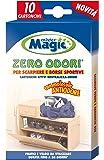 Mr Magic Mister Magic 119250 Cartoncini, Zero Odori per Scarpiere, Multicolore, 18.7x10x1.5 cm, 12 Unità