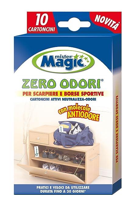 9 opinioni per Mr Magic Mister Magic 119250 Cartoncini, Zero Odori per Scarpiere, Multicolore,